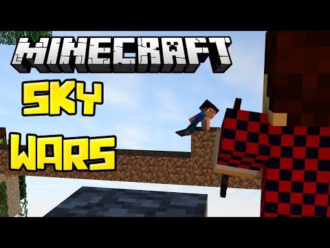 КАКОЙ ЖЕ ОН ЛОВКИЙ - Скай Варс (Minecraft Mini-Game)