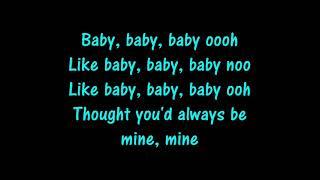 Baby Justin Bieber Lyrics