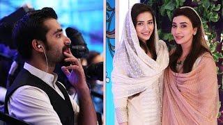 Ramzan Hamara Emaan 7 June 2016 - Sana Javed joins Ayesha Khan & Hamza Ali Abbasi