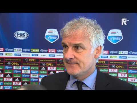 Fred Rutten na afloop van Feyenoord - SC Cambuur