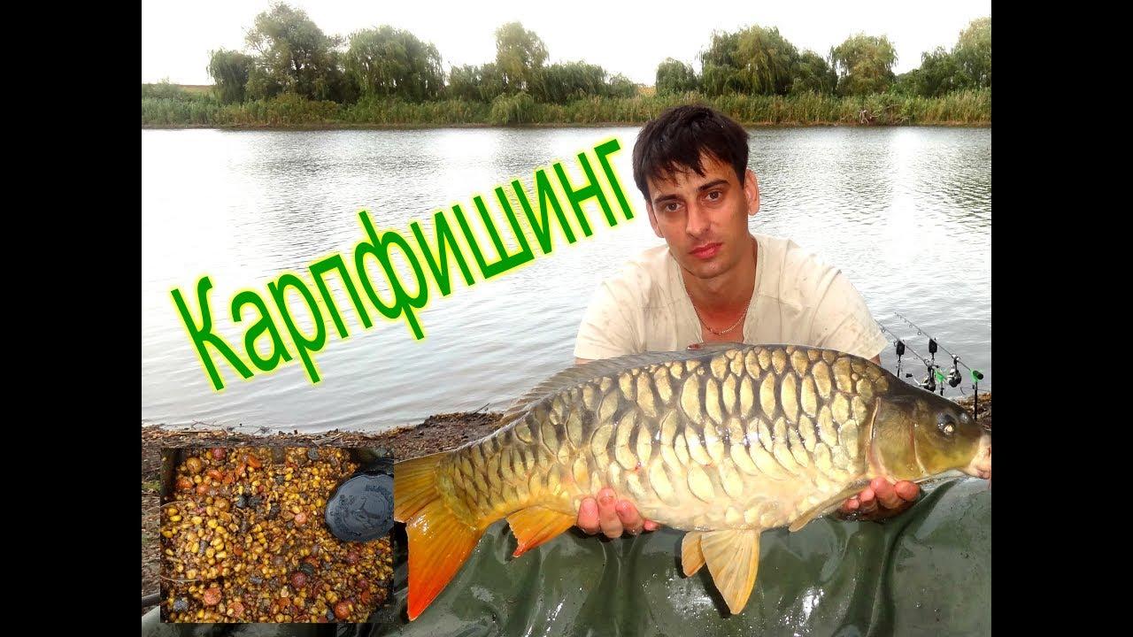карп рыбалка на бойлы видео