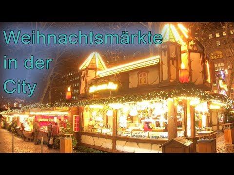 WEIHNACHTSMÄRKTE HAMBURG CITY 2018 |  Gerhardt Hauptmann Platz Spitalerstraße | Hamburg and Travel