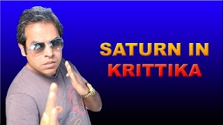 Saturn in Krittika Nakshatra in Vedic Astrology