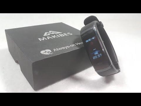 Новый фитнес браслет Makibes HR3. Электроника из китая.