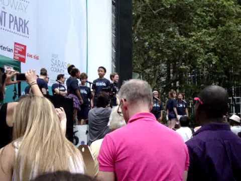 Broadway in Bryant Park - Matilda the Musical -