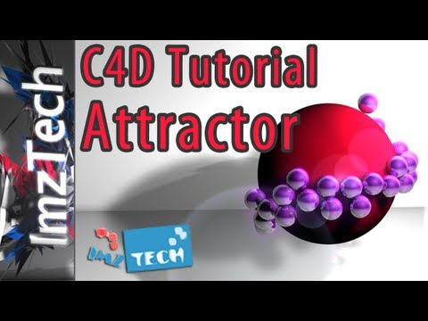 Cinema 4D Tutorial | Attractor