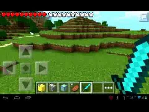Minecraft pe 081 как сделать портал в ад