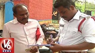 Khammam CP Imposes No Helmet No Entry Rule At Police Commissionerate - Teenmaar News - netivaarthalu.com
