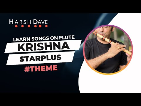Flute notations for Mahabharat Krishna theme