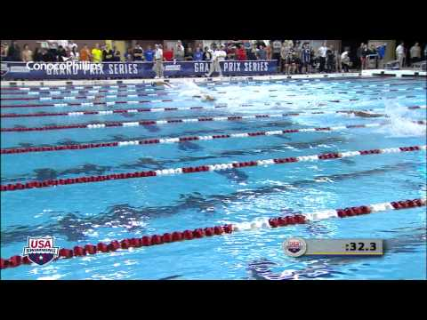 Men&#039;s 100m Butterfly A Final - 2012 Columbus Grand Prix