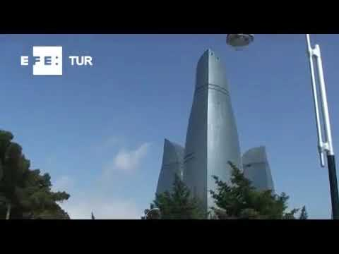 Bakú: ciudad de luz y fuego