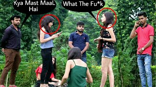 Awkwardly Staring at Girl's PranK - Epic Reactions - In Kolkata | By TCI