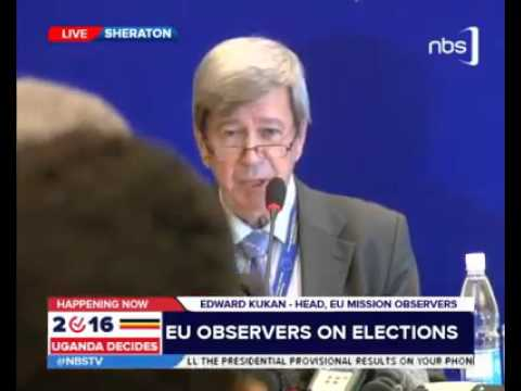 EU Election Observers on Uganda Elections Irregularities - Copyrighted by NBS