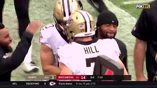 Taysom Hill 2018-12-09 vs Buccaneers