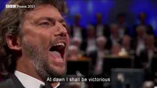 Puccini Nessun Dorma From 39 Turandot 39 Bbc Proms