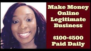 [Make Money Online] How To Make Money Online Earn Fast Easy 2017 Legitimate [Work From Home Jobs]