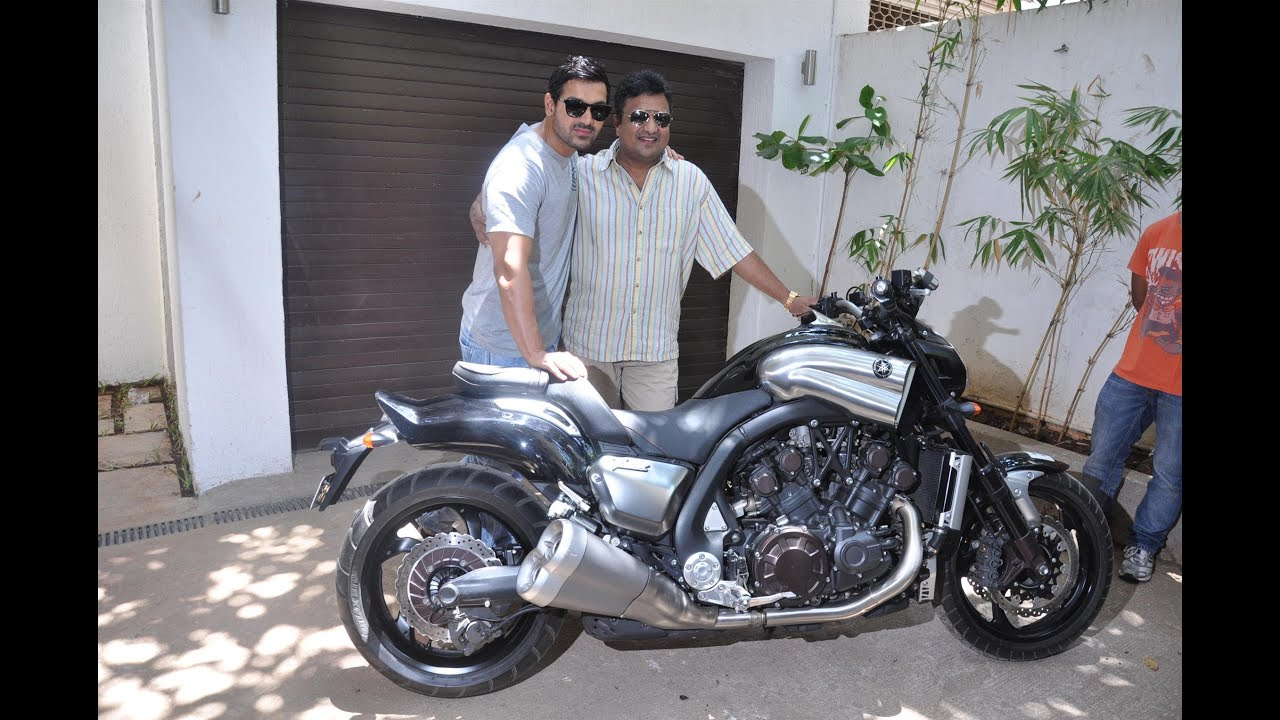 John Abraham Personal Bike John Abraham Gifts His Bike