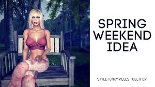 Spring weekend Idea #IAmACreator