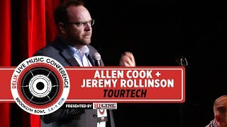 ALLEN COOK + JEREMY ROLLINSON | TOUR TECH | RELIX LIVE MUSIC CONFERENCE | NEW YORK, NY