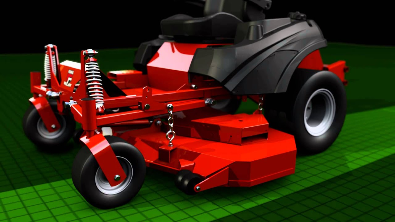 Lawn Tractor With Suspension : How the lawn mower suspension system works on ferris