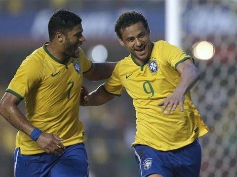 Brasil 1-0 Serbia - Amistoso Internacional 6.6.2014