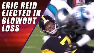 Eric Reid Ejected for Hit on Ben Roethlisberger & Fight