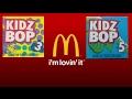 McDonalds Happy Meal Kidz Bop (3 & 5)