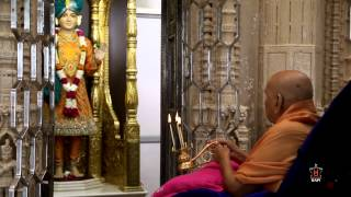 Guruhari Darshan 9 Oct 2014, Sarangpur, India