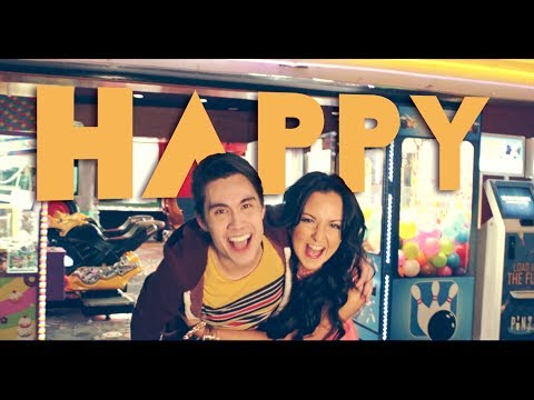 Happy (Pharrell) - Sam Tsui & Sariah Cover Music Videos