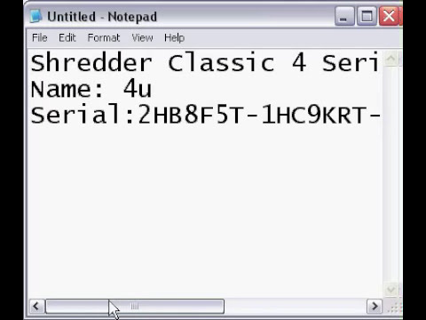 Shredder Classic 4 Serial