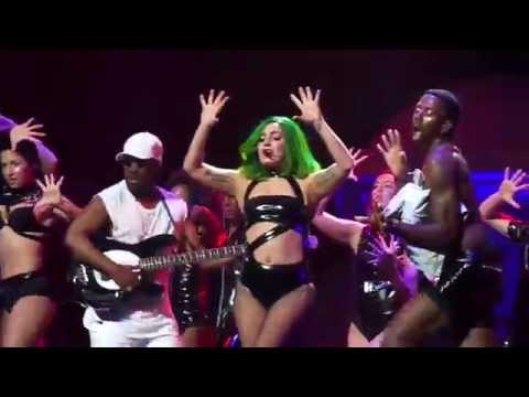 Lady Gaga - Sexxx Dreams ( Live -  Houston,tx Artrave - The Artpop Ball ) July 16, 2014 video