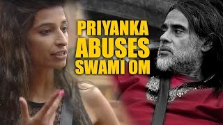 Bigg Boss 10   Day 46   Priyanka Jagga uses abusive language for Swami Om   1st Dec 2016