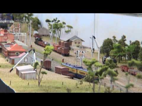 Korumburra - VR Victorian Railways - Hobsons Bay Exhibition 2008 - Model Railway Layout 鉄道模型 Video