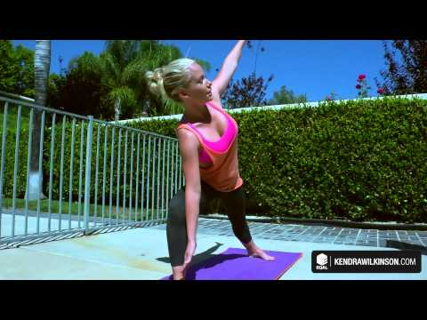 Kendrawilkinson - Kendra's Hot Yoga Move No. 4 video