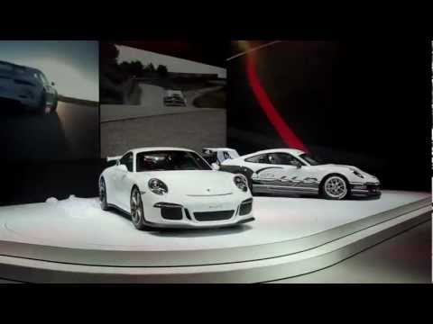 The new Porsche 911 GT3 unveiled in Geneva
