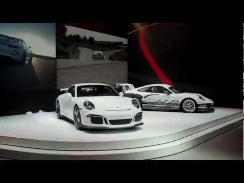 Новый Porsche 911 GT3. Презентация в Женеве