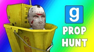 Gmod Prop Hunt Funny Moments - Filing Cabinet Jukes! (Garry's Mod)