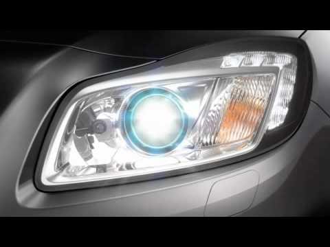 Opel Insignia - освещение дороги, часть 1