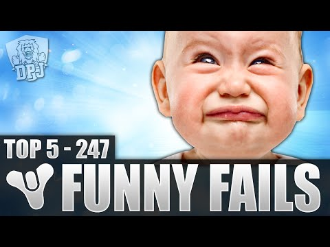 Destiny: Funny Top 5 Fails Of The Week / Episode 247
