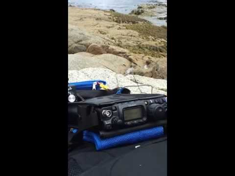 VK3XPT/7 QRP Portable, with VK3PF QRP Portable on 40m