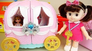 Baby doll pumpkin carriage and beauty toys baby Doli play