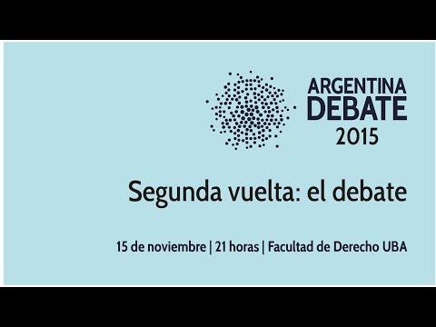 Seguí en vivo el debate presidencial entre Scioli y Macri