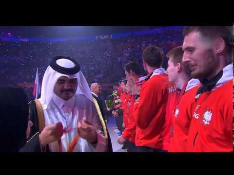Piłka Ręczna MŚ Katar 2015 CEREMONIA DEKORACJI POLAKÓW !!!!!!!!!!!