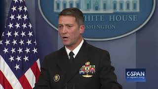 """The president's overall health is excellent."" (C-SPAN)"