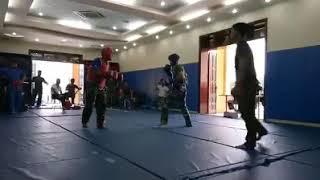 Knockouts kickboxing  đòn chân đẹp như trong phim