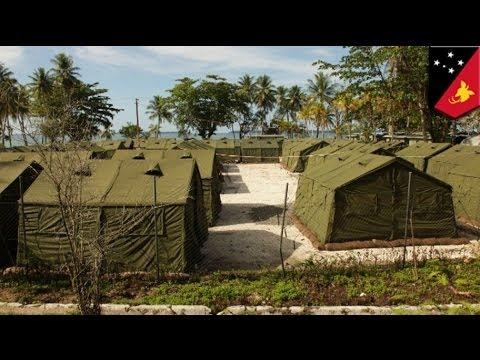 Australia asylum seekers riot at PNG detention camp; one dead, 77 injured