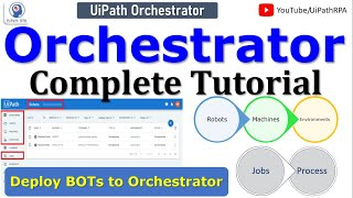 UiPath Orchestrator Complete Tutorial | UiPath Tutorial | RPA Tutorial For Beginners | UiPathRPA