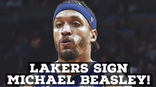 Lakers Sign Michael Beasley! Good Move Or Bad?
