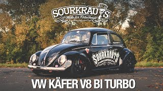 700PS V8 BiTurbo VW Käfer / Sourkrauts / (engl.sub)