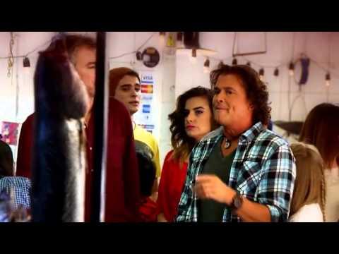 Backstage del video clip de Pituca Sin Lucas con Carlos Vives